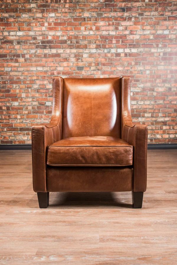 A Boss Leather Piece Made In Canada All Genuine Top Grain Leather All Hardwood frame frame Available in Many leathers and Colours