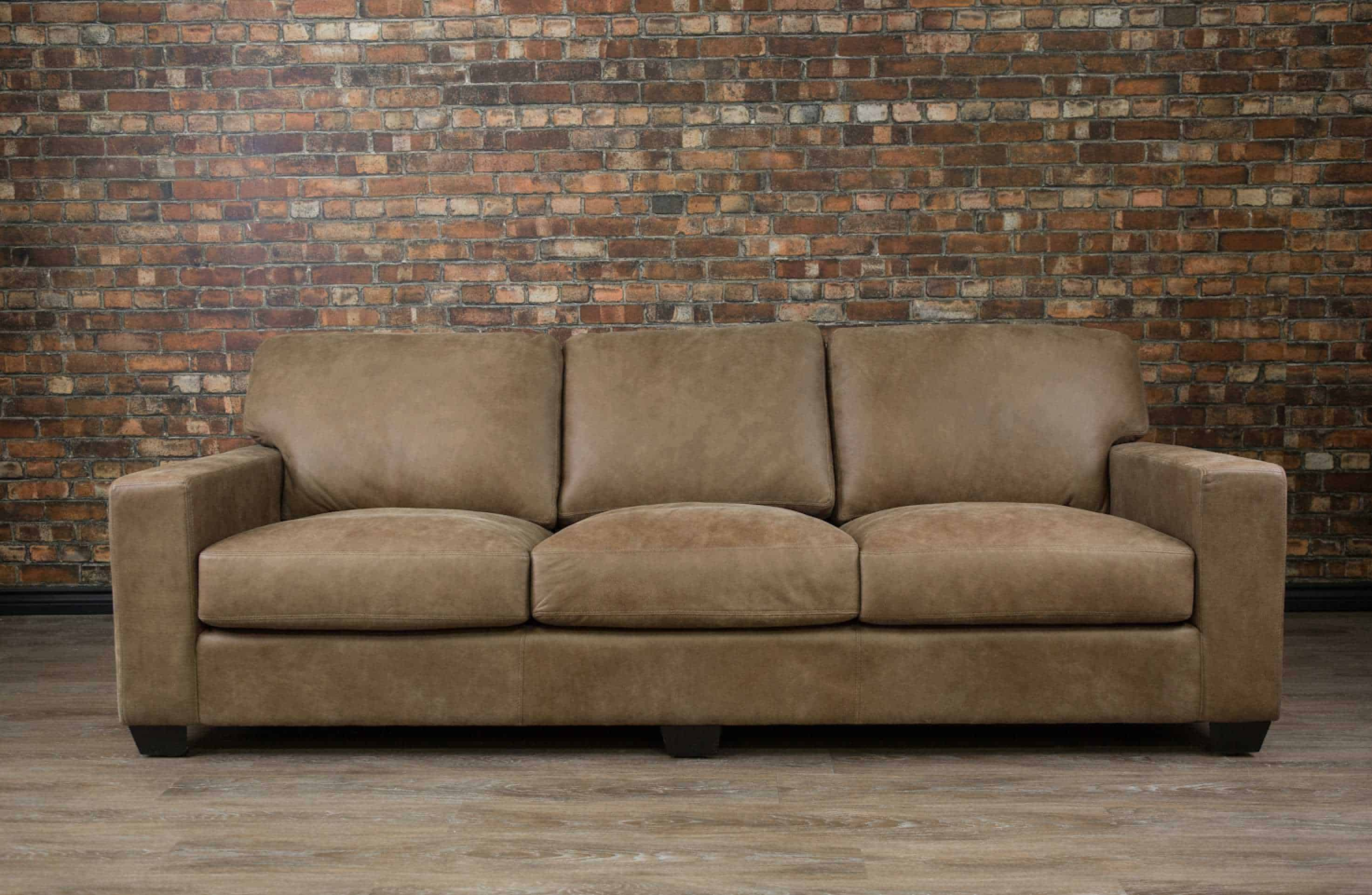 Canada S Boss Leather Furniture Canadian Made Leather Sofa