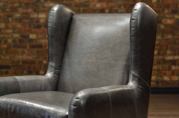 hemingway leather chair upper
