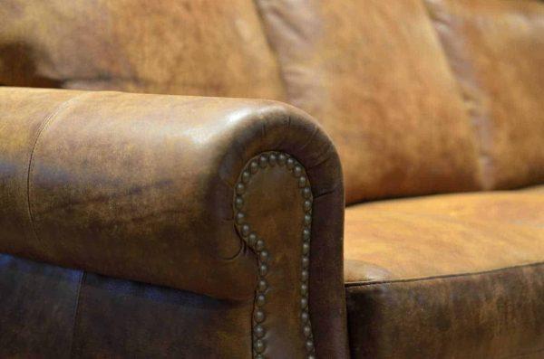 Hoss leather sofa
