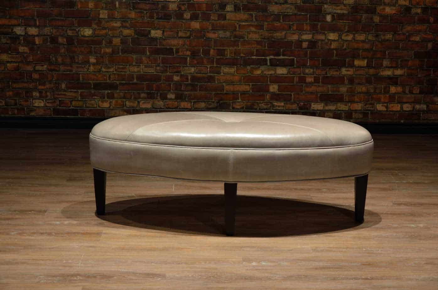 The Oval Leather Ottoman Collection Canada S Boss