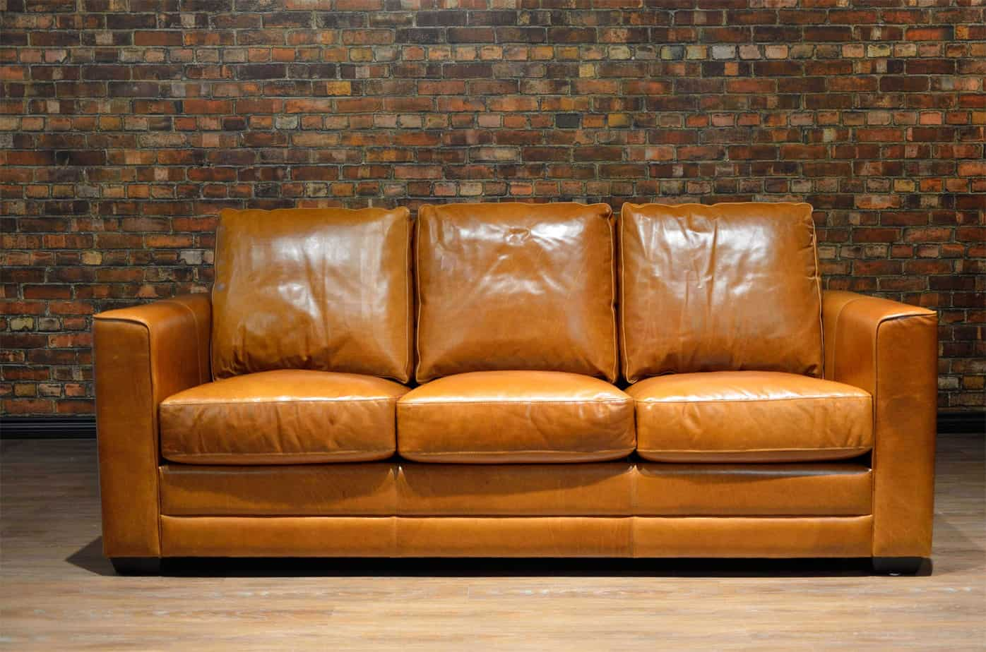 The Torino Regular Leather Sofa