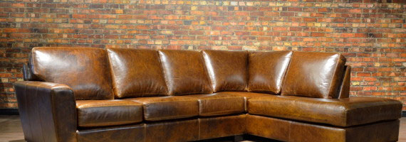 Leather Sofa Bolton Sectional