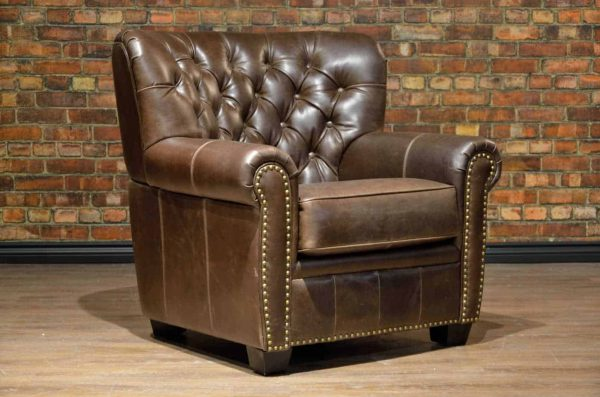 leather chair winston churchill
