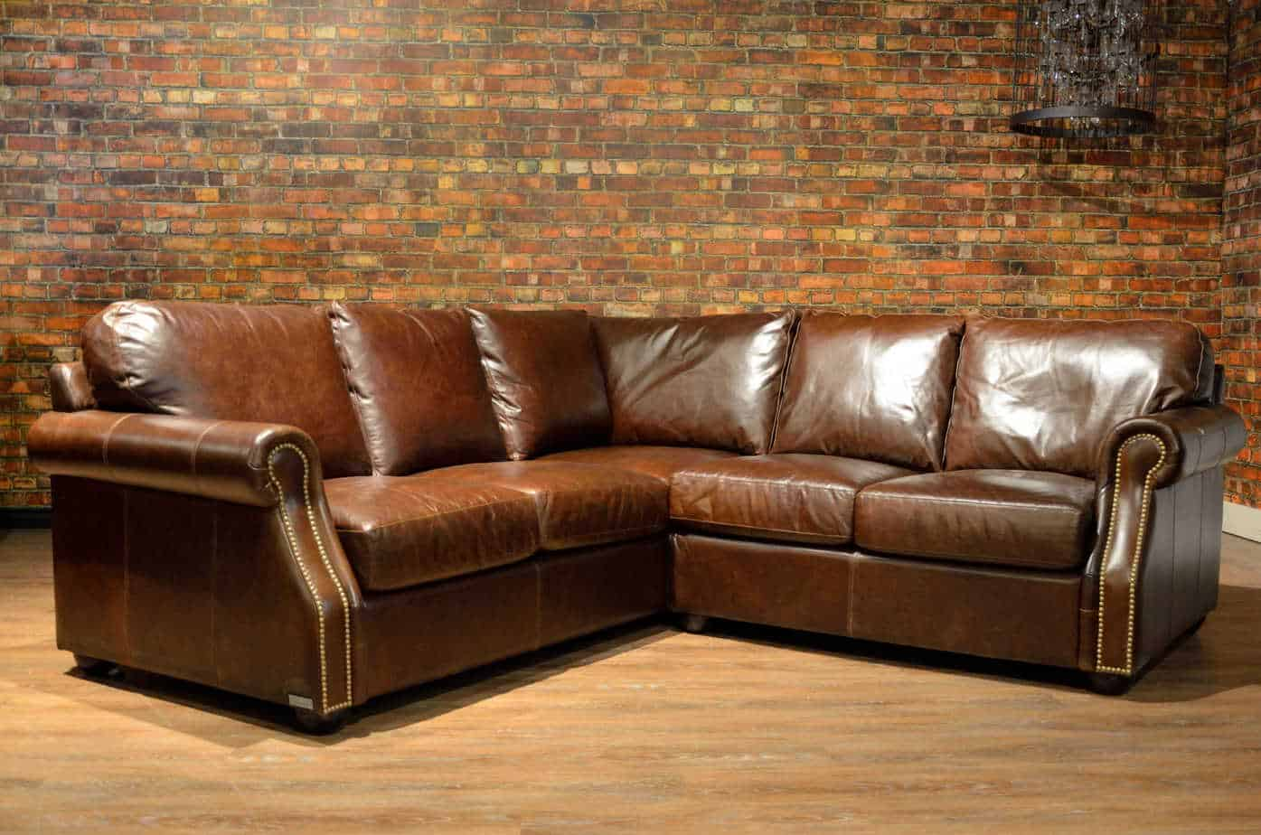 The Texas Leather Sectional   Canada's Boss Leather Sofas ...