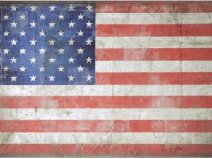 vintage american flag