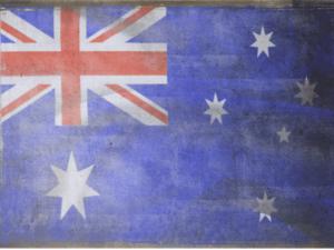 vintage Aussie Flag