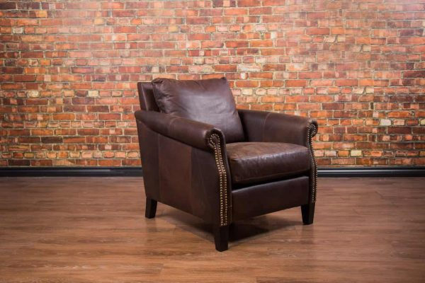 Cottage Leather Chair