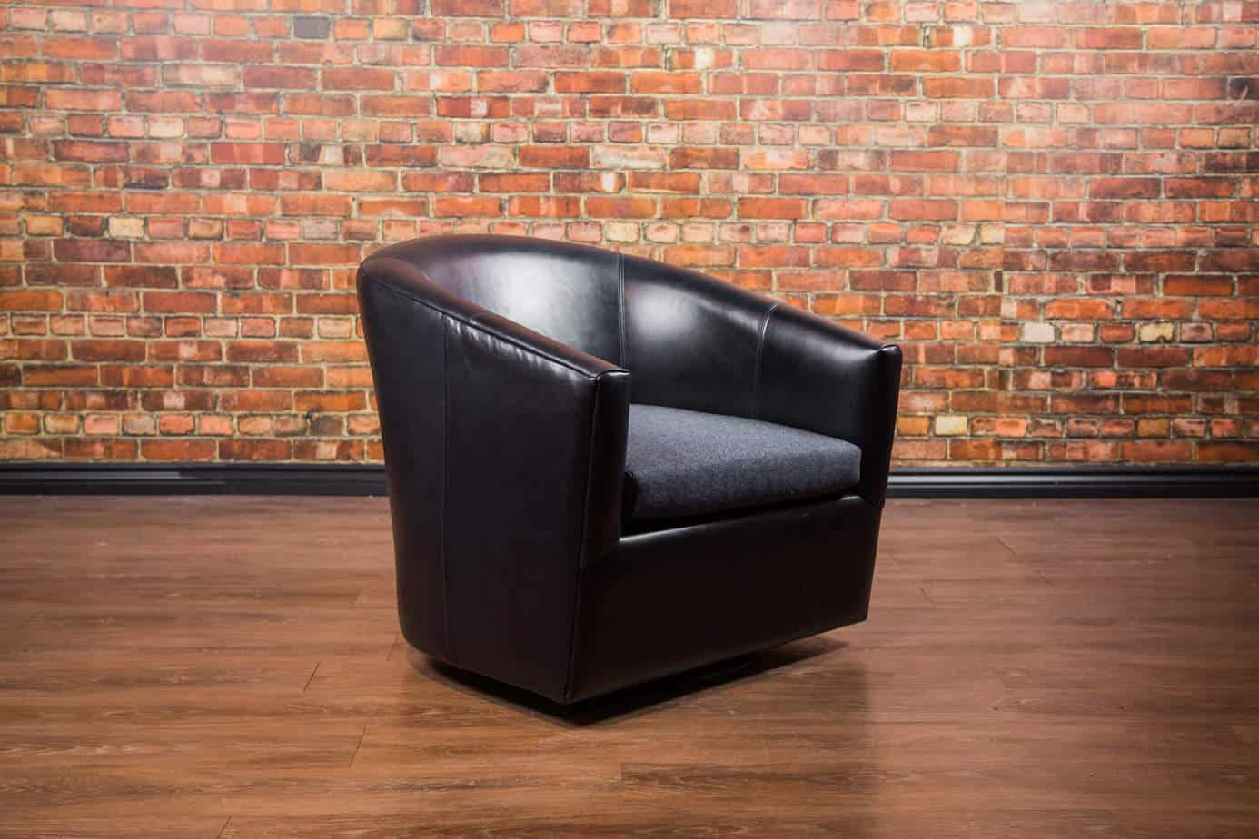 The Treck Leather Swivel Chair Collection Canada S Boss