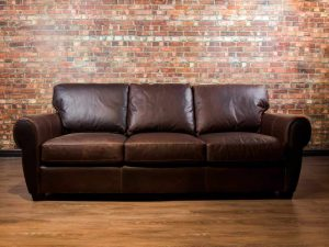 Sheldon collection, Leather Sofa