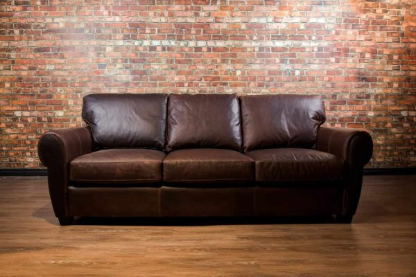 Sheldon collection, Leather Sofa