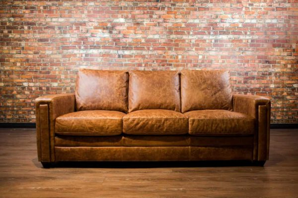 Dakota collection leather sofa