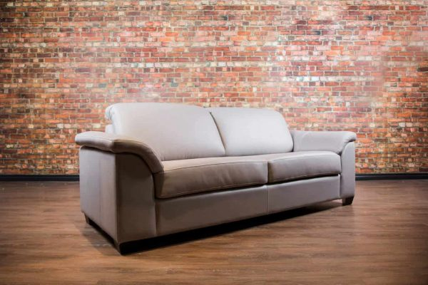 Canadiana Leather Sofa