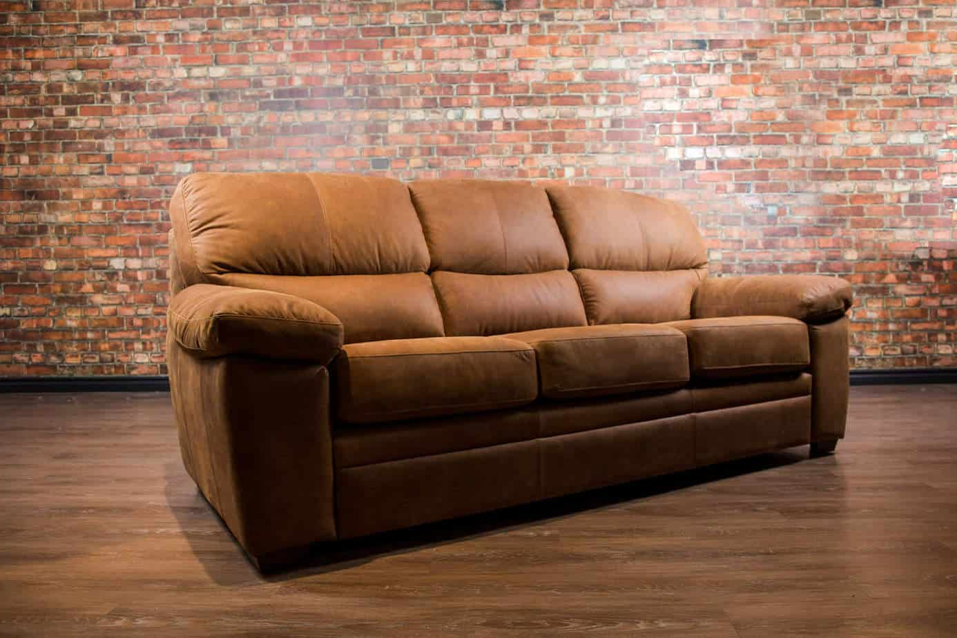 The Bunker Leather Sofa Canada S Boss Leather Sofas And