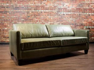 Avelon condo leather sofa, loveseat