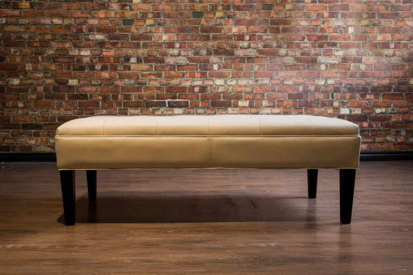 icondo leather coffee table ottoman