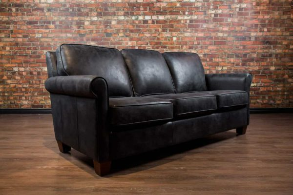 chicago leather sofa