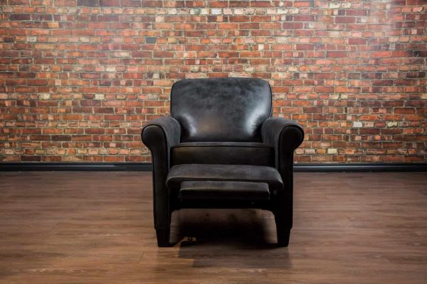 leather recliner open – Chicago