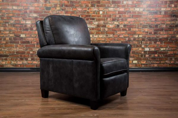 chicago leather chair, recliner