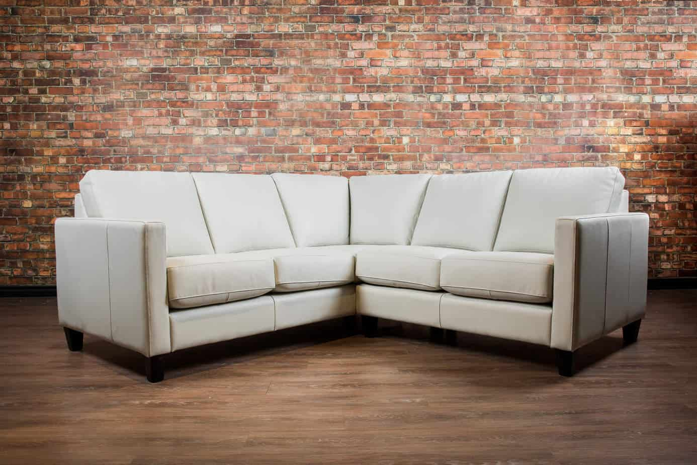 The Condo Elite Leather Sectional