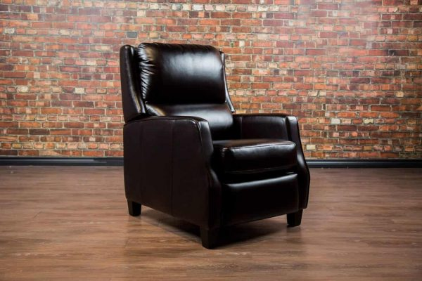 leather recliner country club