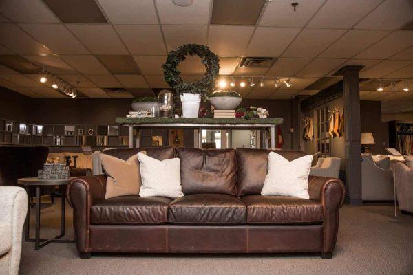 Sheldon Leather Sofa