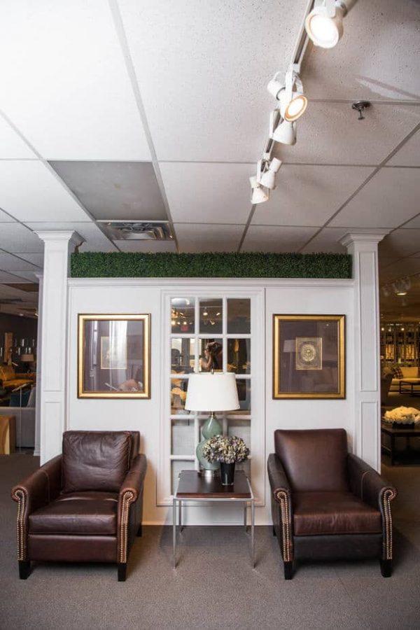 Leather Chairs showroom