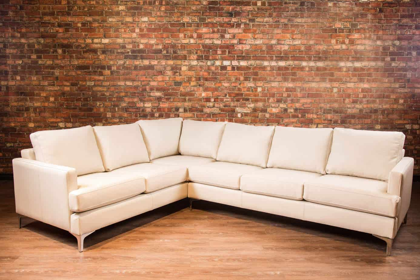 The New York New York Leather Sectional | Canada's Boss ...