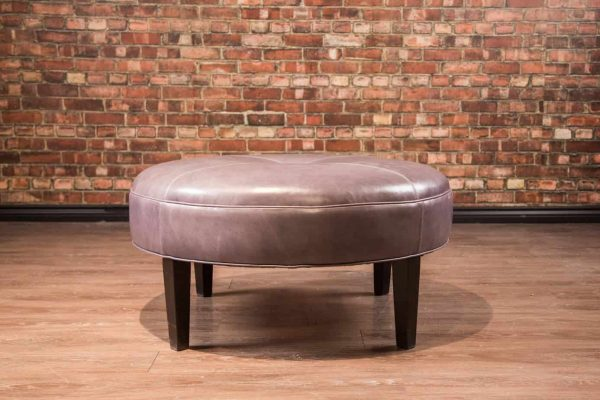 36 inch ottoman leather
