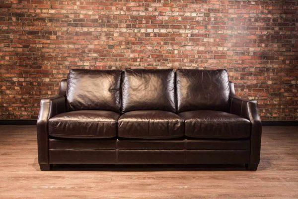el paso leather sofa