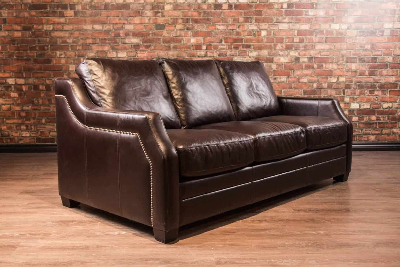 The El Paso Leather Sofa Canada S Boss Leather Sofas And