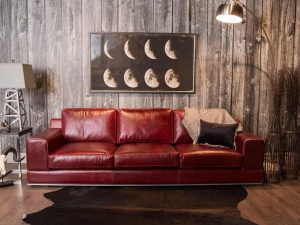 Florentine leather sofa pic