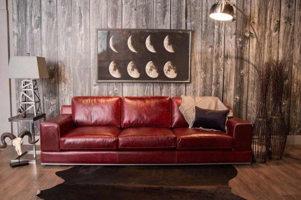 Florentine leather sofa pic