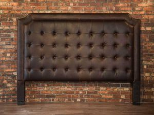 king leather headboard
