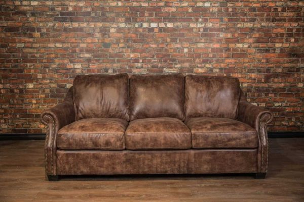 Iowa leather sofa