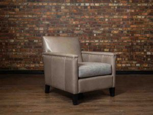 leather chair ranchero tight back
