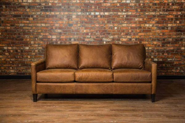 condo leather sofa