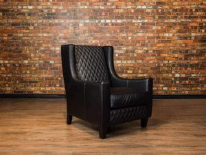 Loft Chair with Quilt Accent