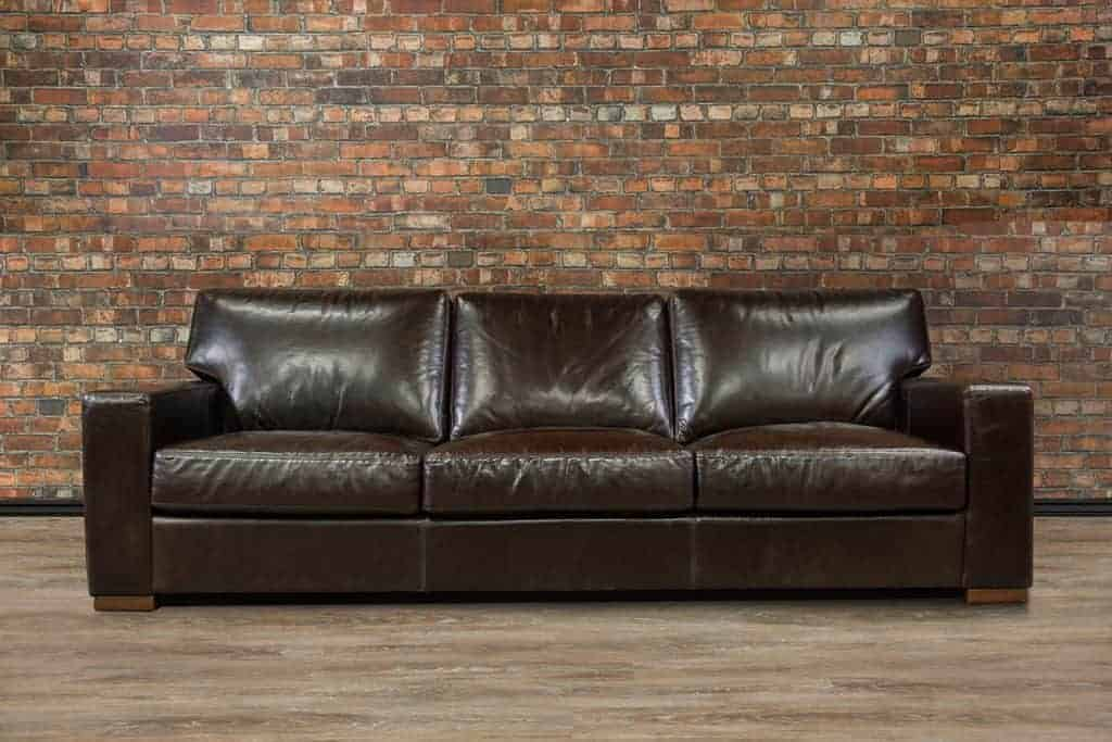 Maxell Regular Deep Seat Leather Sofa Canada S Boss