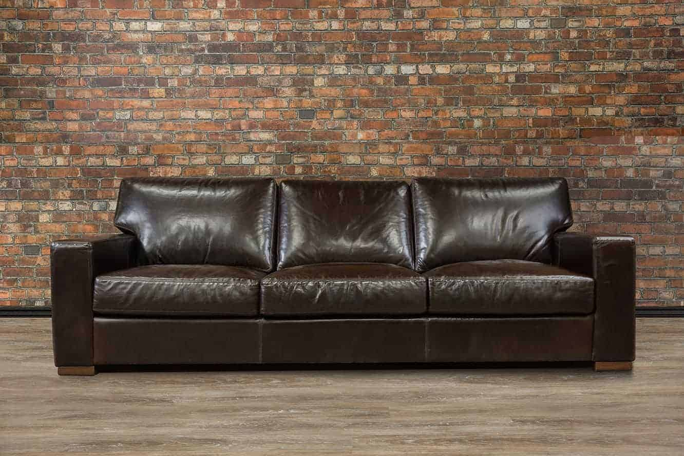 Deep Seated Leather Sofa 1500 Trend Home Design 1500