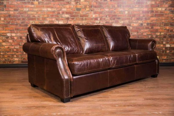 leather sofa croc