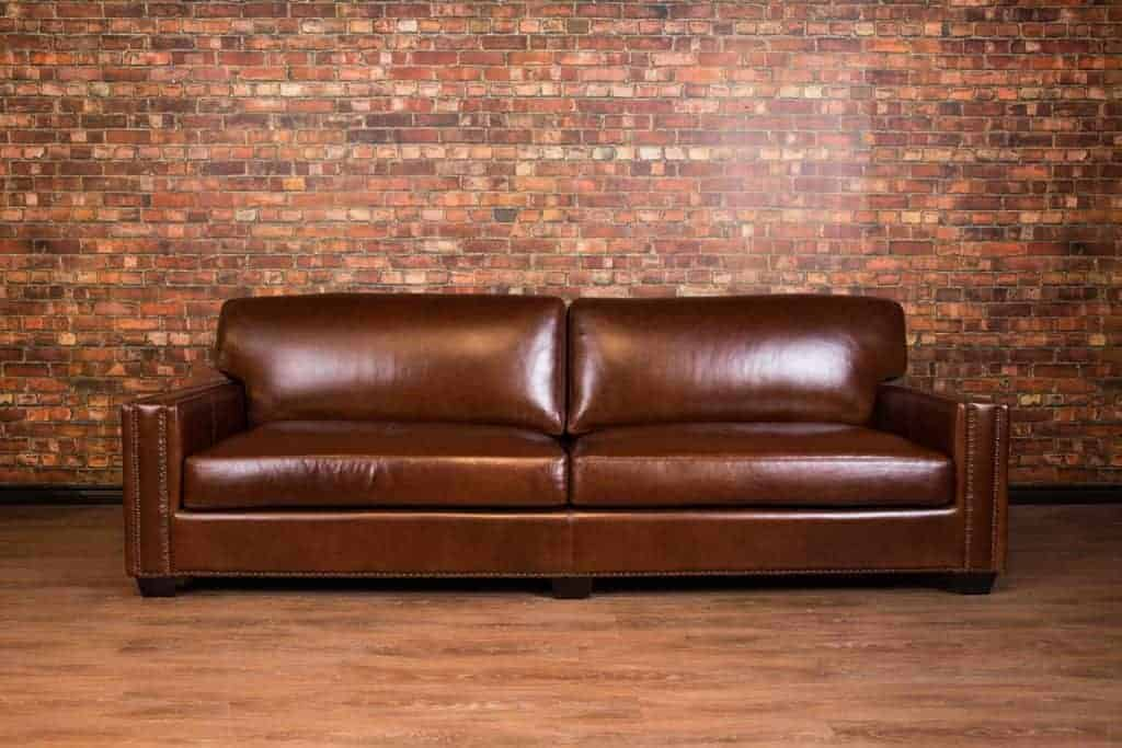 Chartwell Leather Super Sized Deep Seat Leather Sofa
