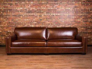 Chartwell leather sofa