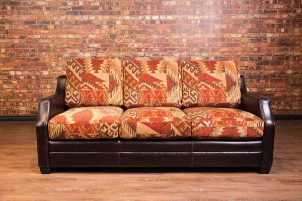 illinois leather sofa