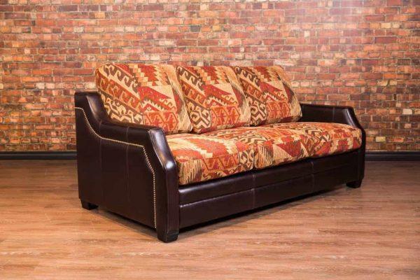illinois leather fabric combo