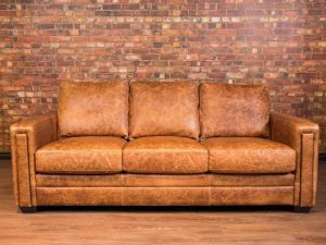 dakota leather sofa