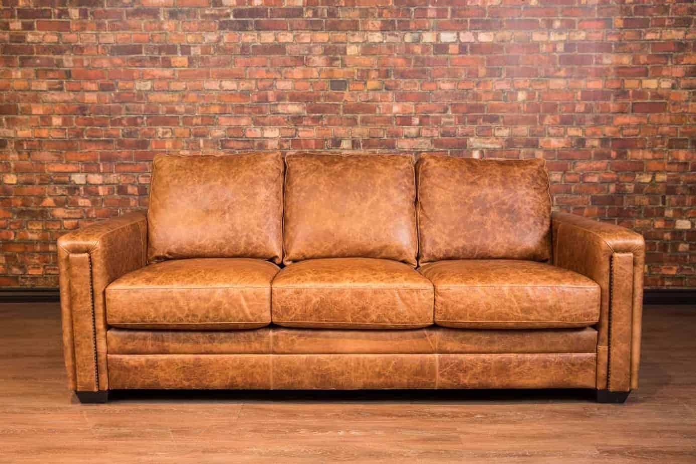 Dakota Leather Sofa ...