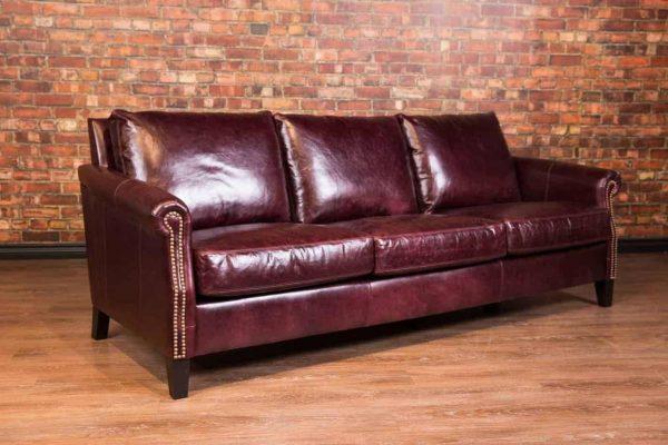 esquire leather sofa