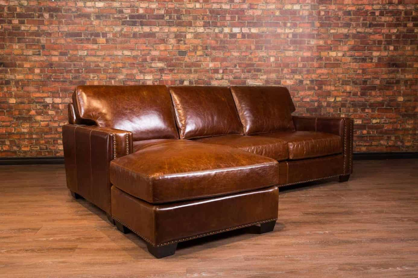 Maxell Deep Seat Leather Chaise Canada S Boss Leather Sofas And Furniture