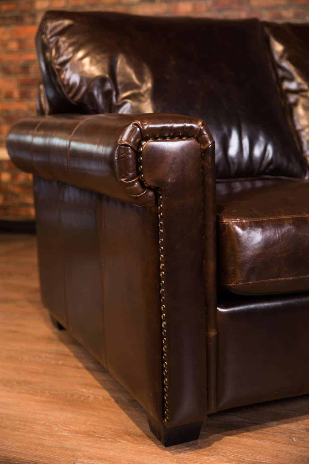 The Houston Leather Sectional